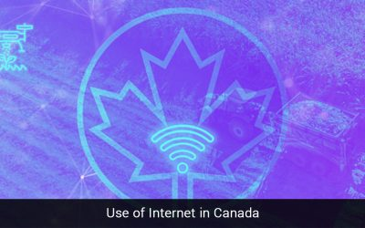 Use of Internet in Canada