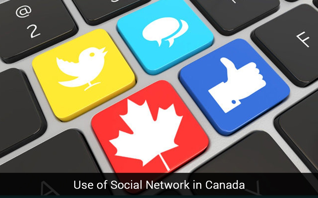 Use of Social Network in Canada
