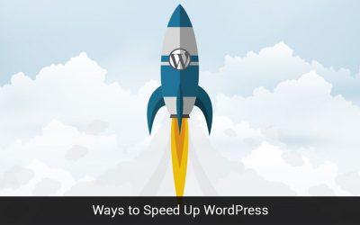 21 Ways to Speed Up WordPress