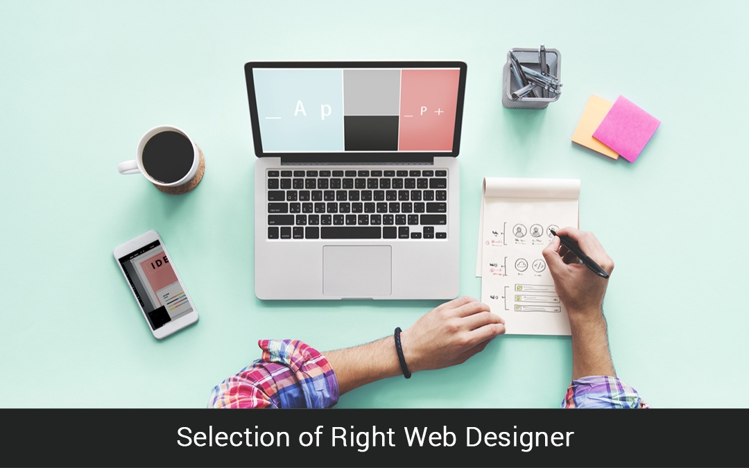 Selection of Right Web Designer
