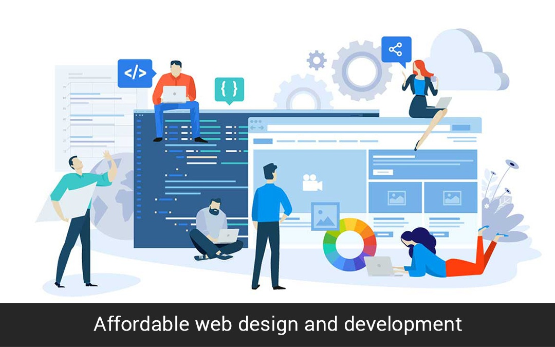 Affordable web design and development