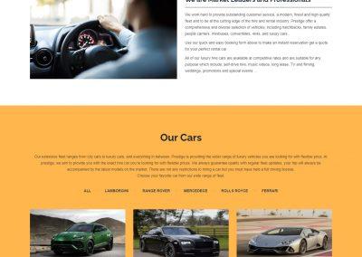 PRESTIGE CAR HIRE UK
